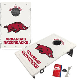 Victory Tailgate Arkansas Razorbacks Baggo Bean Bag Toss Cornhole Game Classic Design