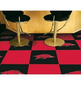 Fan Mats Razorback Carpet Tile