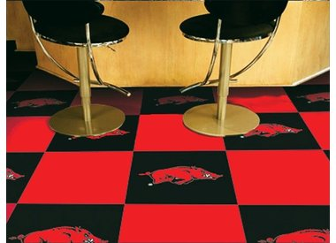 Arkansas Razorback Floor Covering