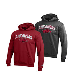 Champion Razorback Youth 3D Hooded Sweatshirt