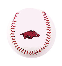 Baden Razorback Baseball with pad print RUNNING HOG