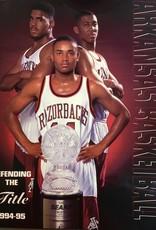 1994-95 Razorback Basketball Media Guide