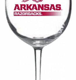 Nordic Arkansas Razorback Connoisseur Wine Glass