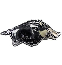 Fan Mats Razorback Molded Chrome Emblem