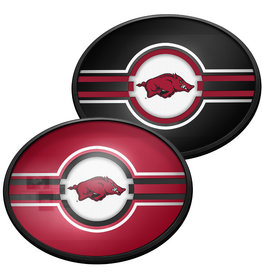 The Fan-Brand Razorback Oval Slim line Lighted Wall Sign DS