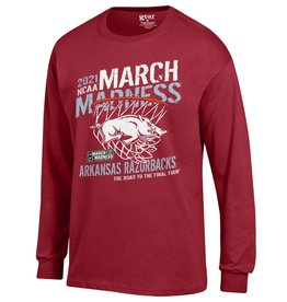 Gear For Sports 2021 Arkansas Razorback March Madness LST