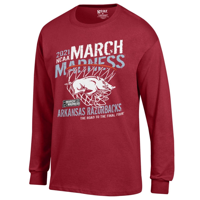 Gear For Sports 2021 Arkansas Razorback March Madness LST