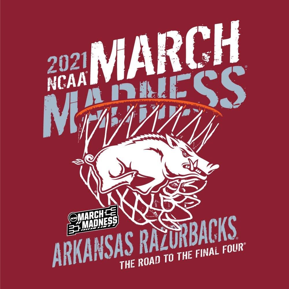 Gear For Sports 2021 Razorback March Madness SST