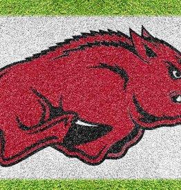 U-Stencil Arkansas Razorback TUSK Lawn Stencil & Paint