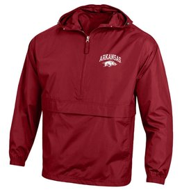 Champion Arkansas Razorback Pack & Go Rain Jacket
