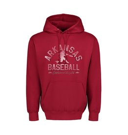 "MV Sport Razorback Baseball ""Just Crushing It"" Hooded Sweatshirt"