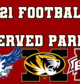 2021 Football Reserved Parking