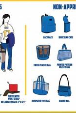 Capri Designs Stadium/Arena  Approved Carryall, Handbag, Tote, Purse