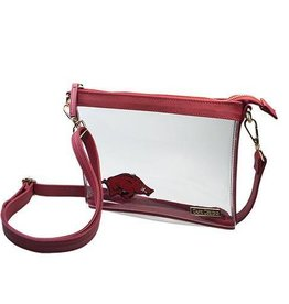 Capri Designs Razorback Stadium/Arena  Approved Small Crossbody