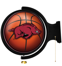The Fan-Brand Basketball Rotating Lighted Wall Sign