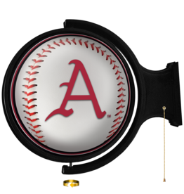 The Fan-Brand Baseball Rotating Lighted Wall Sign