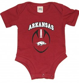 Little King Razorback Diaper Shirt Romper