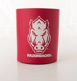 Arkansas Razorback Hog Face Can Koozie