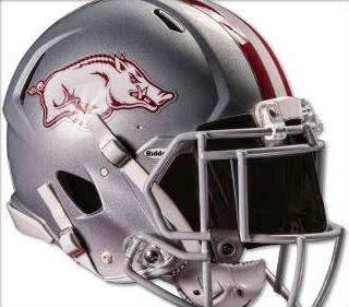 4466bd2ad69 Razorback Jerry Jones Mini Tribute Helmet By Riddell - The Stadium ...