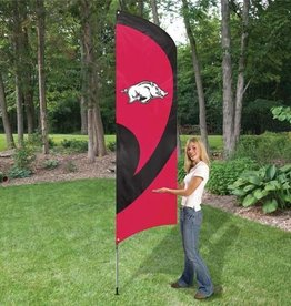 Arkansas Razorback Feather Flag