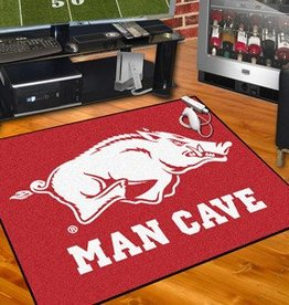 Fan Mats Razorback Man Cave All Star Mat/Rug - DS