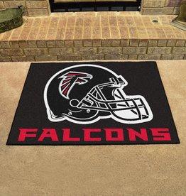 Fan Mats NFL Atlanta Falcons Black All Star Mat - DS