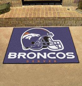 Fan Mats NFL Denver Broncos All Star Mat - DS