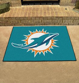 Fan Mats NFL Miami Dolphins All Star Mat - DS