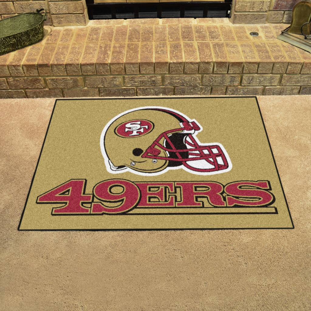 Fan Mats NFL San Francisco 49ers All Star Mat