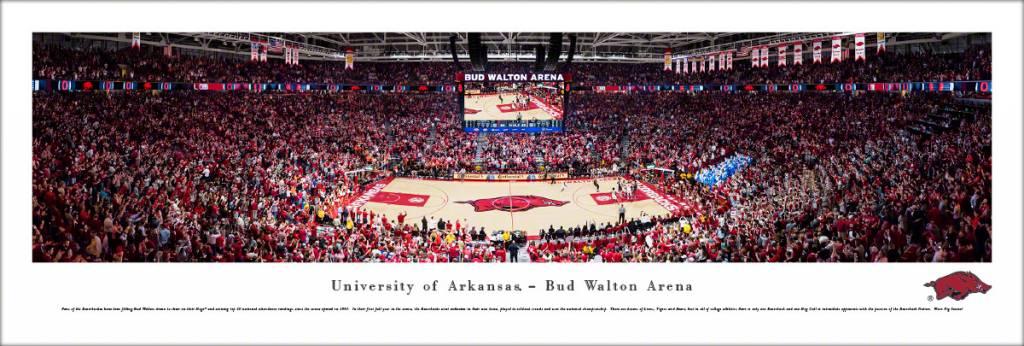 2018 Bud Walton Arena Panorama Print By Blakeway Panorama