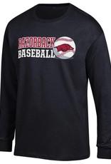 Champion Arkansas Razorback Baseball LST