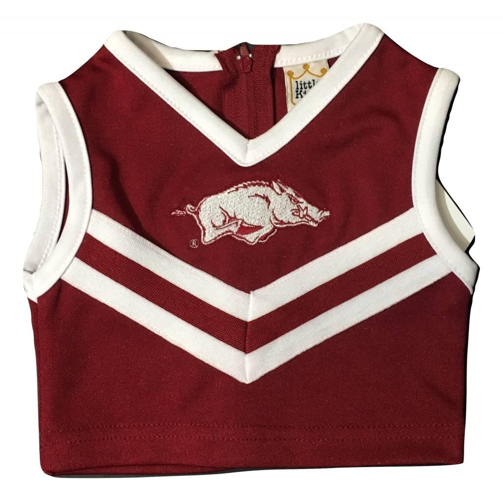 Little King Arkansas Razorbacks Cheerleader Outfit
