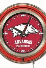 """15"""" Razorback Neon Clock"""
