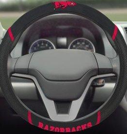 Fan Mats Razorback Steering Wheel Cover