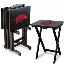Razorback TV Tray Set