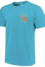 Comfort Colors Arkansas Short Sleeve Pocket Tee By Comfort Colors