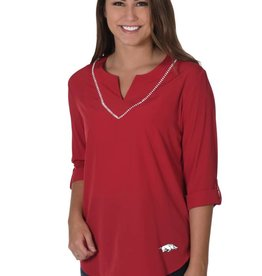 University Girls Women's Stitch Neckline Tunic