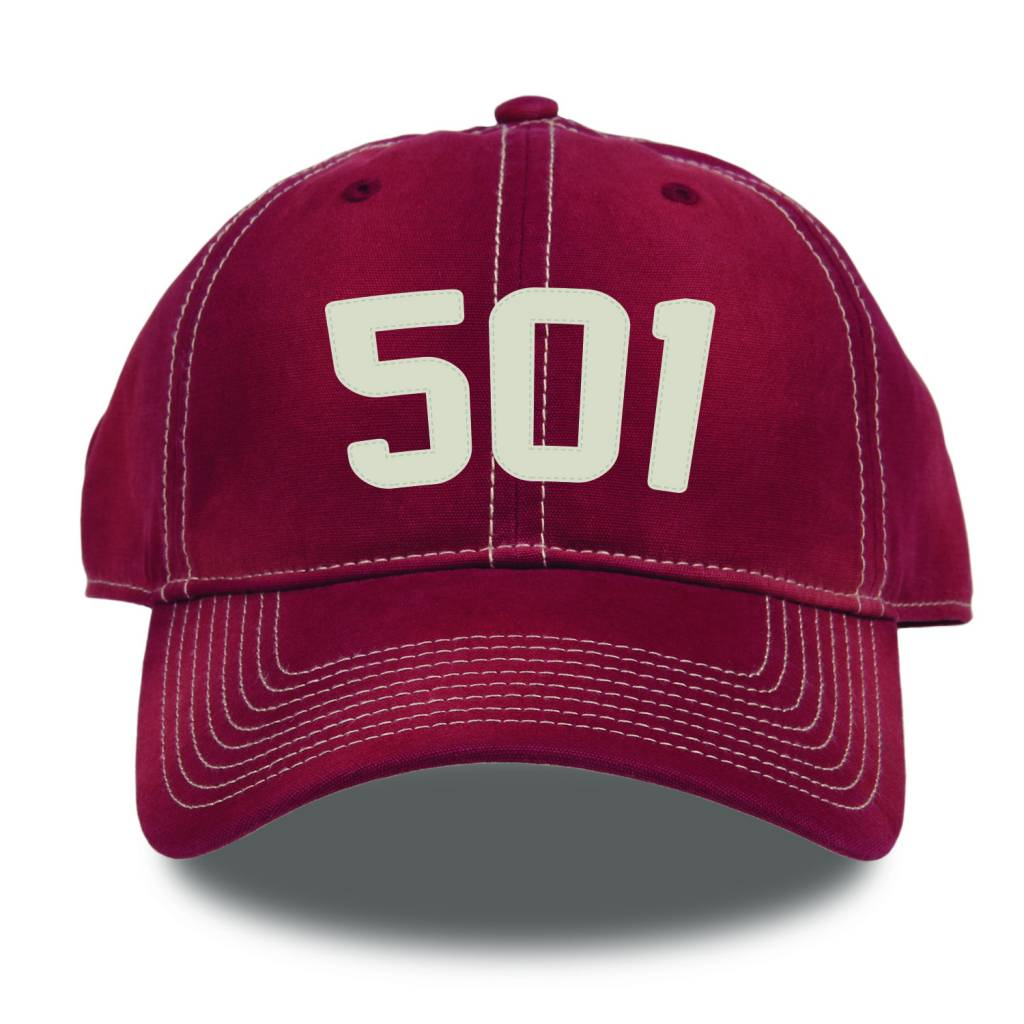 The Game Razorback 501 Area Code Hat By The Game