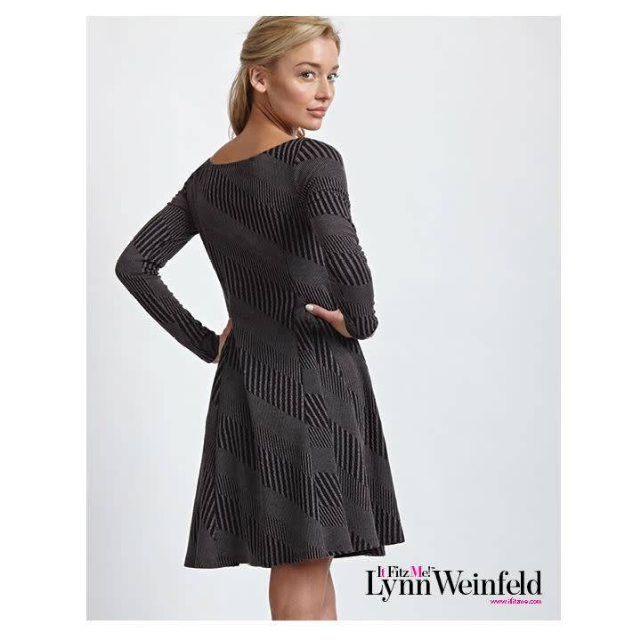 It Fitz Me! Knit Flare Dress