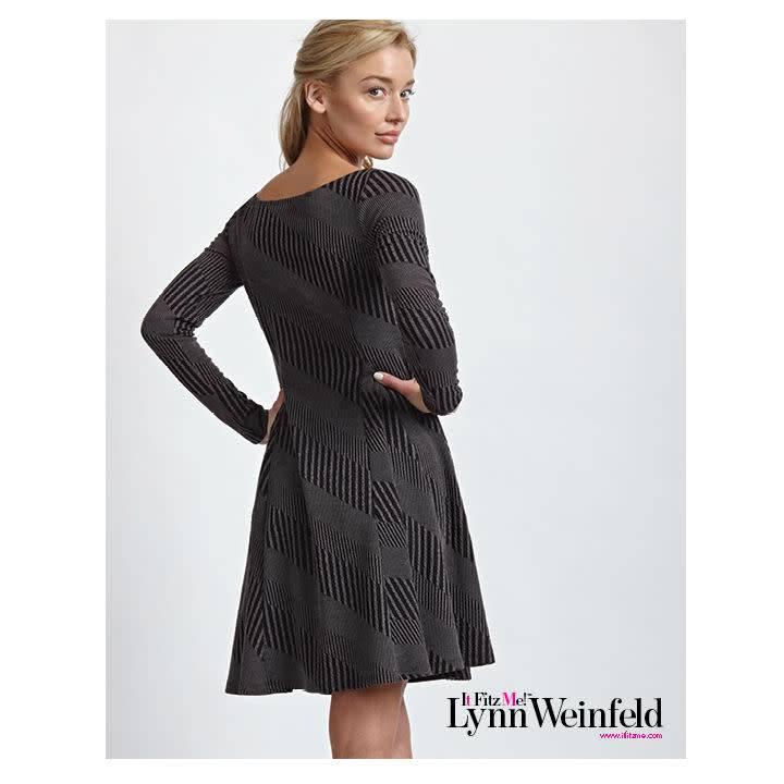 It Fitz Me! Knit Flare Dress