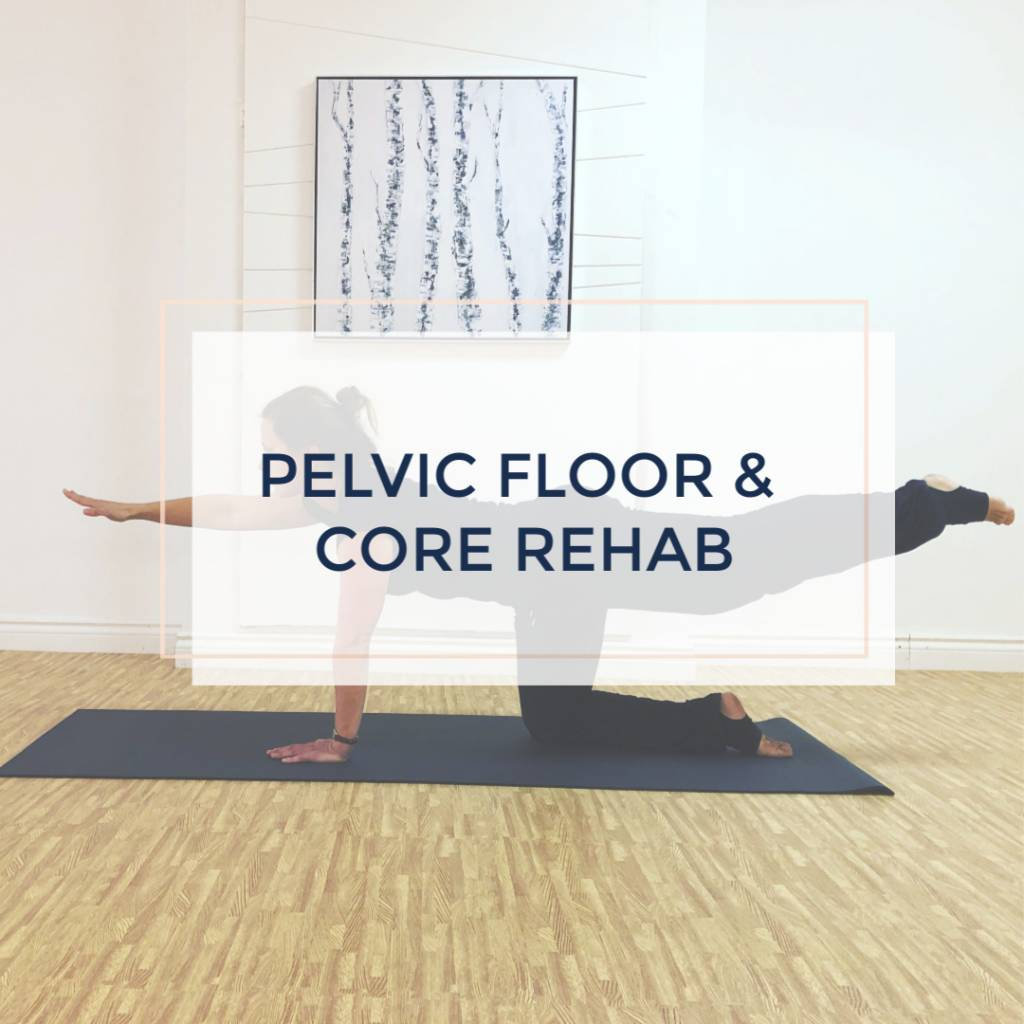 Pelvic Floor and Core Rehab- 7 week course