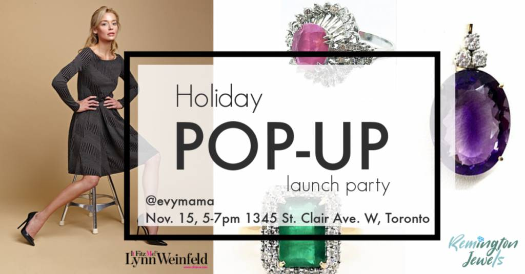 Holiday Pop-up shop launch party!