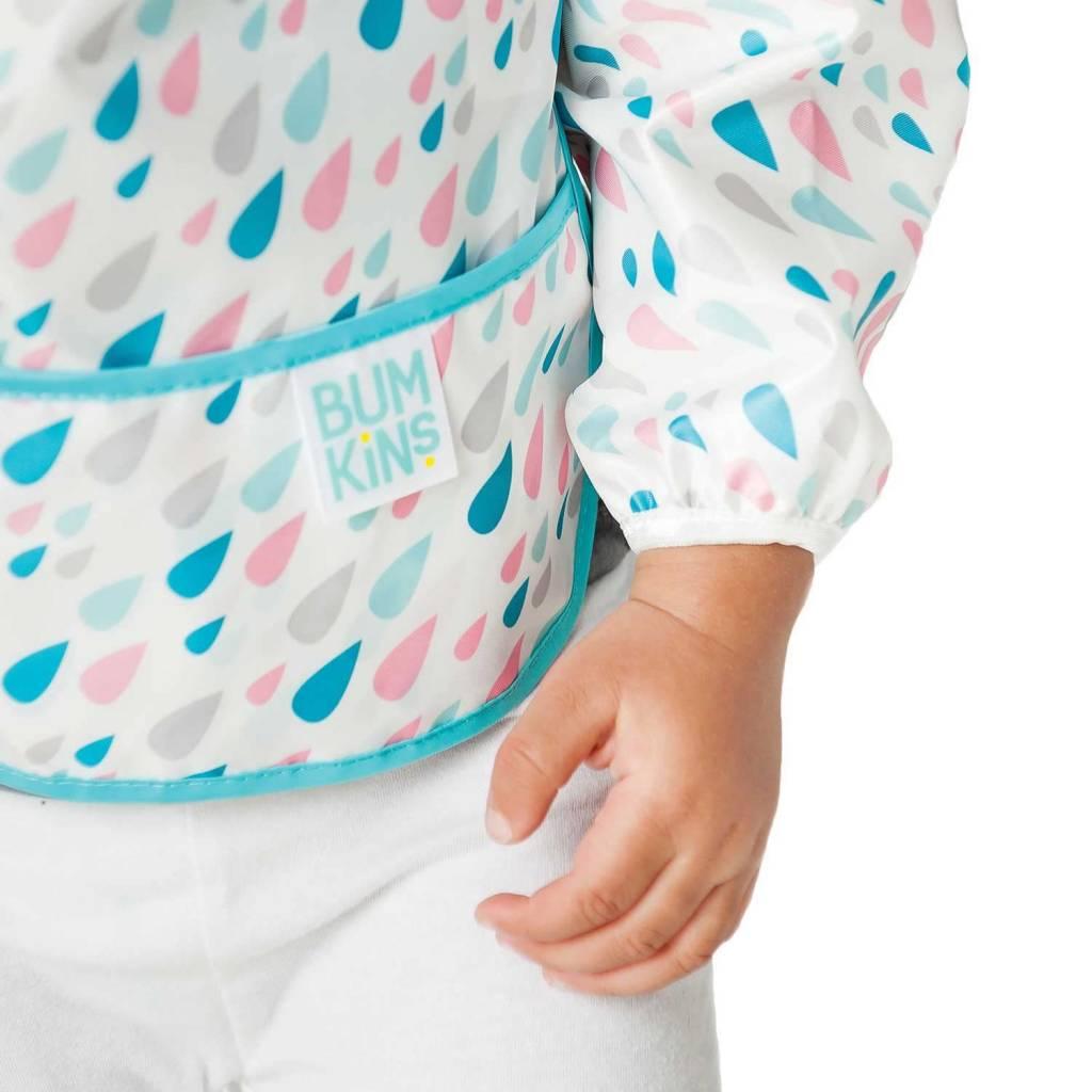 Bumkins Sleeved Bib - Hearts