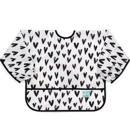 Bumkins Sleeved Bib - Hearts