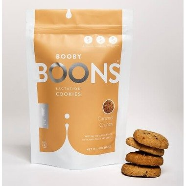 Booby Boons Caramel Crunch Lactation Cookies