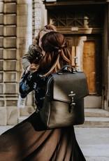 Lait De Poule LDP circle skirt base dress black