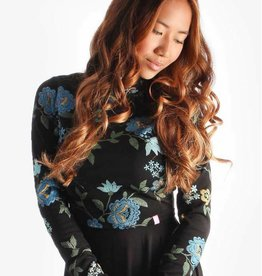 Lait De Poule LDP Romantic floral nursing top