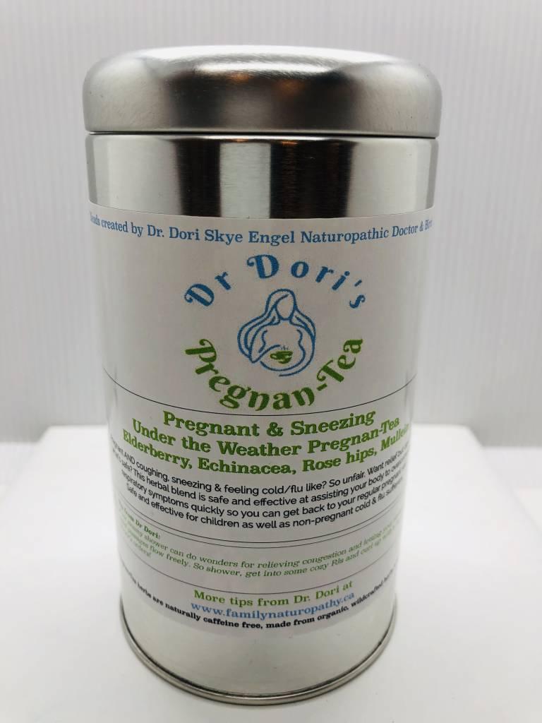 Dr. Dori's Pregnan-Tea Pregnant & Sneezing