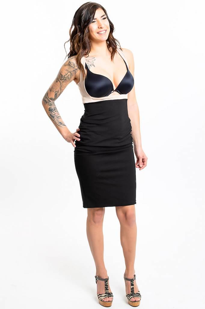Lait De Poule LDP pencil skirt base dress black