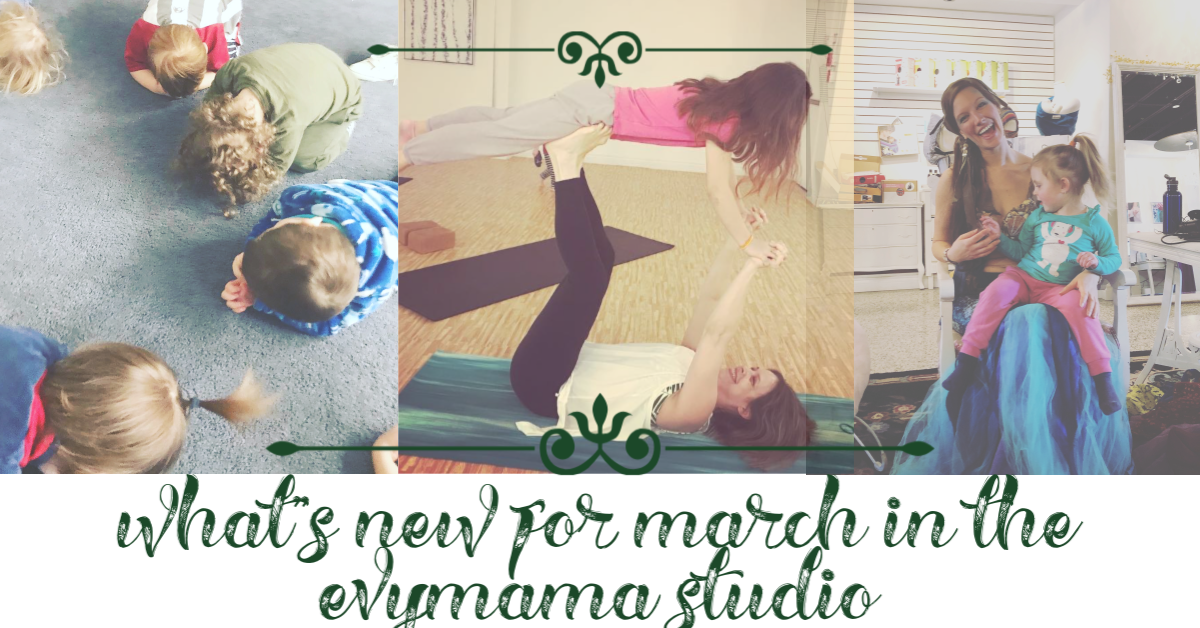 March Break in the Evymama studio